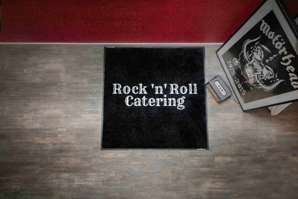 Rock 'n' roll catering matte