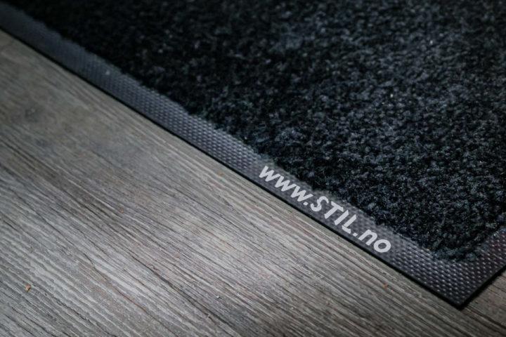 Nærbilde av matte fra Stil Tekstilservice